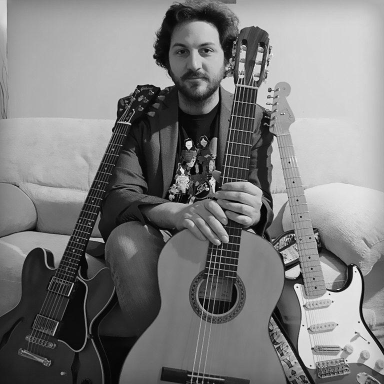 Luca Giannotti - Insegnante di Chitarra a Cascina