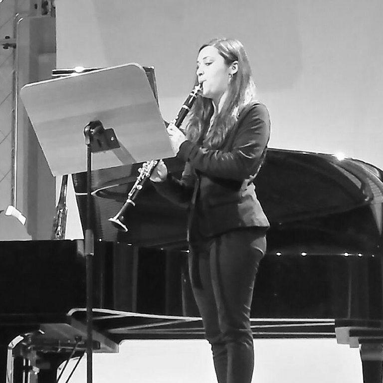 Maria Marcalli insegnante clarinetto Cascina